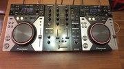 Комплект DJ оборудования DJM-350+CDJ-400 (2 шт.)
